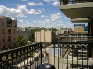 A perfect Brooklyn sky