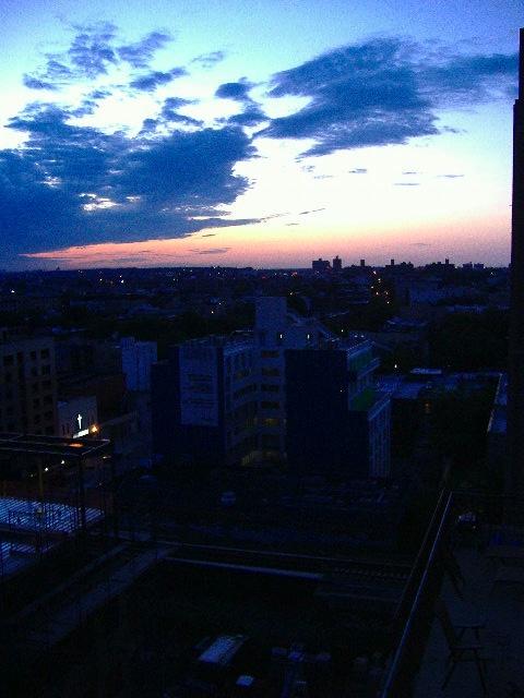 Sunset over Brooklyn