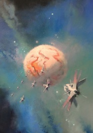 Old Man's War. Art by John Harris