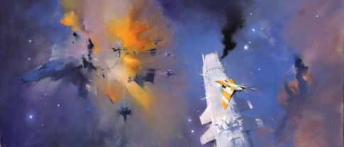 The Last Colony. Art by John Harris