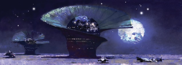 The Twin Parliaments of Pyrrhus. Art by John Harris